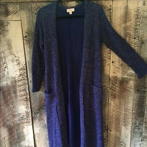 NWOT Lularoe Sarah Cardigan sweater, size M